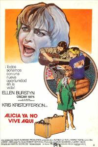 Alice Doesn't Live Here Anymore - 27 x 40 Movie Poster - Spanish Style A