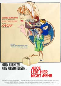 Alice Doesn't Live Here Anymore - 11 x 17 Movie Poster - German Style A