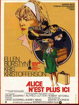 Alice Doesn't Live Here Anymore - 11 x 17 Movie Poster - French Style A