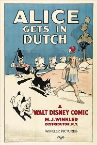 Alice Gets in Dutch - 11 x 17 Movie Poster - Style A
