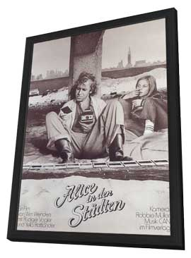Alice in the Cities - 11 x 17 Movie Poster - German Style A - in Deluxe Wood Frame