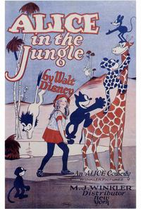 Alice in the Jungle - 27 x 40 Movie Poster - Style A