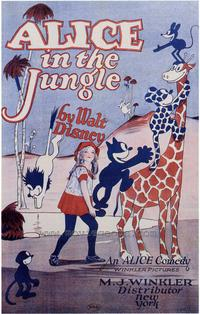Alice in the Jungle - 43 x 62 Movie Poster - Bus Shelter Style A
