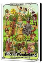 Alice in Wonderland: An X-Rated Musical Fantasy - 11 x 17 Movie Poster - Style A - Museum Wrapped Canvas