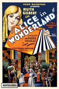 Alice in Wonderland - 43 x 62 Movie Poster - Bus Shelter Style A