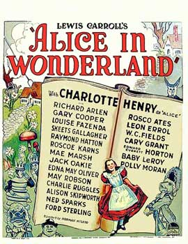 Alice in Wonderland - 11 x 17 Movie Poster - Style C