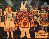 Alice in Wonderland - 11 x 14 Movie Poster - Style A