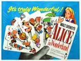 Alice in Wonderland - 11 x 14 Poster Spanish Style A