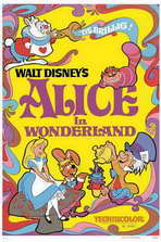 Alice in Wonderland - 11 x 17 Movie Poster - Style G