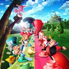 Alice in Wonderland - 30 x 30 Movie Poster - Style B