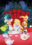 Alice in Wonderland - 27 x 40 Movie Poster - Style E