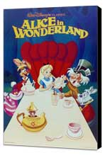Alice in Wonderland - 11 x 17 Movie Poster - Style E - Museum Wrapped Canvas