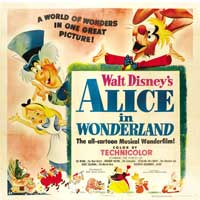 Alice in Wonderland - 30 x 30 Movie Poster - Style A