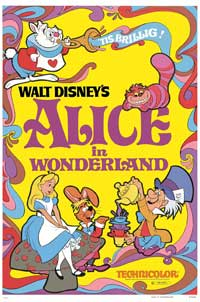 Alice in Wonderland - 27 x 40 Movie Poster - Style D