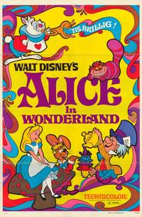 Alice in Wonderland - 1 Sheet Movie Poster - Style A