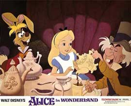 Alice in Wonderland - 11 x 14 Movie Poster - Style B