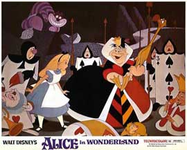 Alice in Wonderland - 11 x 14 Movie Poster - Style E