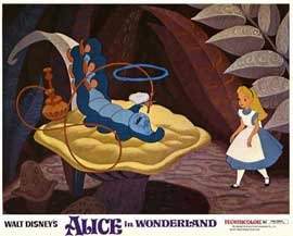 Alice in Wonderland - 11 x 14 Movie Poster - Style F
