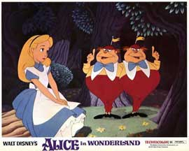 Alice in Wonderland - 11 x 14 Movie Poster - Style C