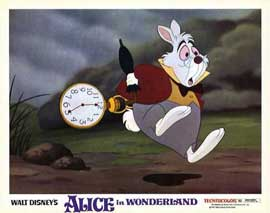 Alice in Wonderland - 11 x 14 Movie Poster - Style G