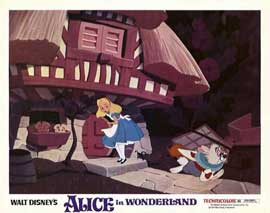 Alice in Wonderland - 11 x 14 Movie Poster - Style H