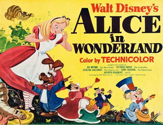 Alice in Wonderland Movie Posters From Movie Poster Shop