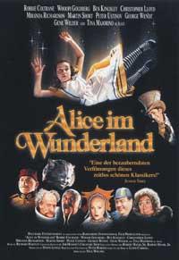 Alice in Wonderland - 27 x 40 Movie Poster - German Style A