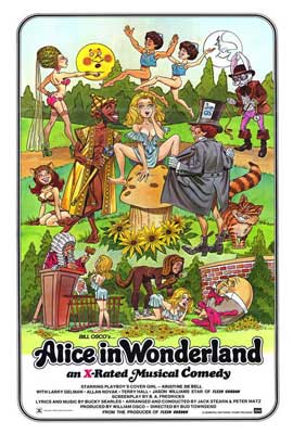 Alice in Wonderland (X) - 27 x 40 Movie Poster - Style A