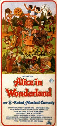 Alice in Wonderland (X) - 11 x 17 Movie Poster - Style B