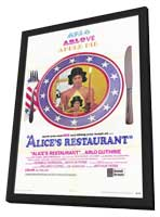 Alice's Restaurant - 27 x 40 Movie Poster - Style A - in Deluxe Wood Frame