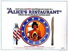 Alice's Restaurant - 11 x 17 Movie Poster - Style B
