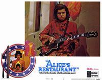 Alice's Restaurant - 11 x 14 Movie Poster - Style E