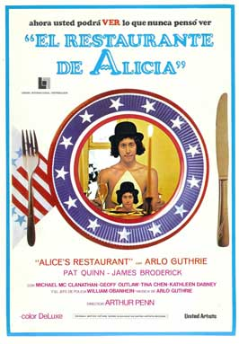 Alice's Restaurant - 11 x 17 Movie Poster - Korean Style A