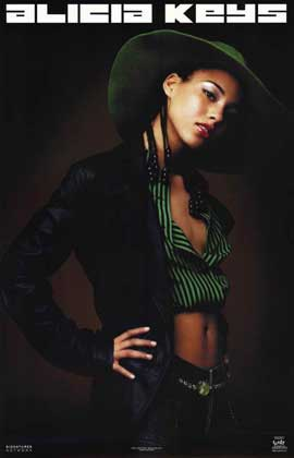 Alicia Keys - 11 x 17 Music Poster - Style A