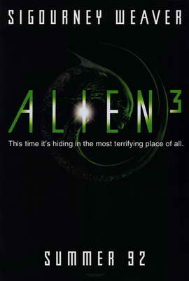 Alien 3 - 27 x 40 Movie Poster - Style A