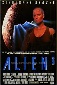 Alien 3 - 27 x 40 Movie Poster - Style B