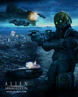 Alien Armageddon - 27 x 40 Movie Poster - Style A