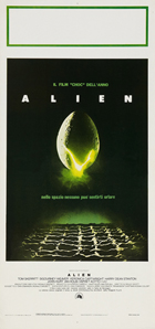 Alien - 13 x 28 Movie Poster - Italian Style A