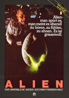 Alien - 27 x 40 Movie Poster - German Style A