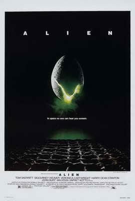 Alien - 27 x 40 Movie Poster - Style E
