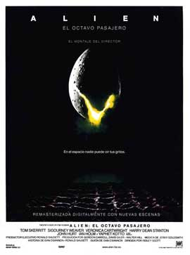 Alien - 27 x 40 Movie Poster - Spanish Style A