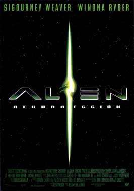 Alien: Resurrection - 11 x 17 Movie Poster - Spanish Style B