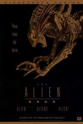 Alien Saga, The (Video Poster) - 11 x 17 Movie Poster - Style A