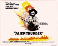 Alien Thunder - 11 x 14 Movie Poster - Style A