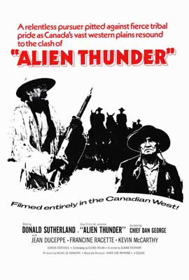 Alien Thunder - 11 x 17 Movie Poster - Style A