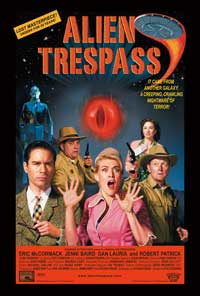 Alien Trespass - 43 x 62 Movie Poster - Bus Shelter Style A