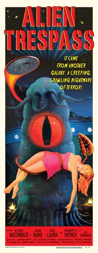 Alien Trespass - 14 x 36 Movie Poster - Insert Style A