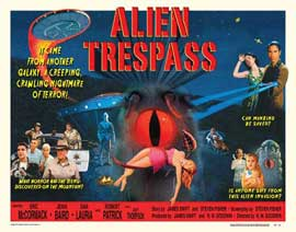 Alien Trespass - 11 x 14 Movie Poster - Style A