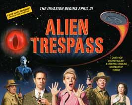 Alien Trespass - 11 x 14 Movie Poster - Style B