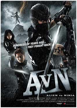 Alien Vs. Ninja - 27 x 40 Movie Poster - Style A